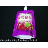 Quality Three Layers Material Stand Up Pouch With Spout / Liquid Packaging Bags wholesale