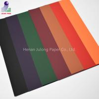China Soft Touch paperboard coated velvet flocked paper for gift wrapping packaging on sale