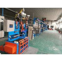 Quality Fast Electric Wire Making Machine / Sky Blue Cable Extrusion Machine wholesale