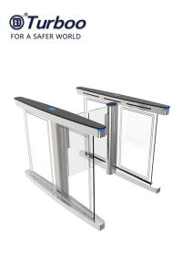Quality Flap Wings Security Barrier Gate , Speed Gate Pedestrian Access Control System CE Approval wholesale