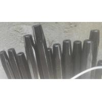 Quality H25x159mm Steel Rock Drill Rod / Mining Tapered Hex Drill Rod 800mm-6100mm Length wholesale