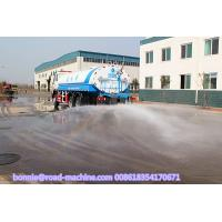 Quality Self Suction Liquid Tanker Truck , 336HP 20000L 20M3 20 tons Water Tank Truck wholesale