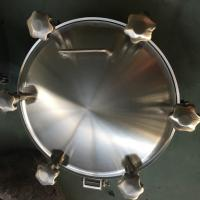 Quality Sanitary Stainless Steel Inwards Opening Elliptical Manways Manlids wholesale