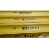Quality Waterproof Treated H20 Timber Beam , Yellow Timber H BeamFor Slab Formwork wholesale