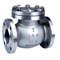 Quality API ISO CE Standard Cast Check Valve , Stainless Steel Swing Check Valve wholesale