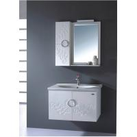Quality 0.5 Vanity size Square Sinks Bathroom Vanities 15mm PVC board Material wholesale