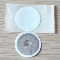 Quality PVC Disc Tags with Adhesive Paper with 125kHz and 13.56MHz Frequency wholesale