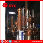1000L steam gin short path distillation column machine for sale