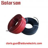 Quality 1000V DC TUV waterproof UV resistance XLPE double insulation 4mm 12AWG solar PV cable wholesale