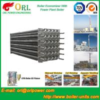 Quality Water Heater Boiler Stack Economizer Boiler System , Boiler Economiser wholesale