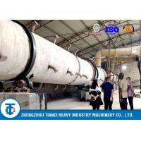 China 100,000 Tons / Year Rotary Drum Granulator NPK Production Line Ball Shape on sale