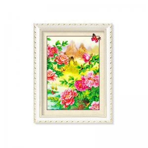 Quality Flowers And Plants 5D Images Lenticular Art Prints For Restaurant Decor wholesale