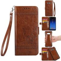 Buy cheap Oil Wax Leather 2 In 1 Wallet Case For Samsung S8 Plus Scratch Resistant from wholesalers