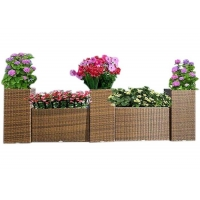 Quality UV Resistant Garden Patio Rattan Outsite Flower Pots wholesale