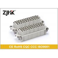 China Male Female 92 Pin Industrial Rectangular Connectors , IP65 Multi Pin Connector on sale
