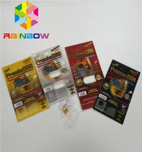 Quality Premierzen Blister Card Packaging Custom Child Resistant Botton Lock 3D Card Paper Box wholesale