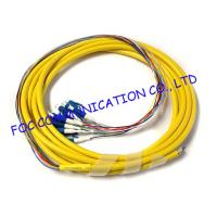 Quality Fan Out LC / UPC pigtail fiber optic 12 Core With High Tensile Strength wholesale