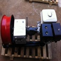 Quality Electric Diesel Gasoline Cable  Wire Rope Pulling Winch For Construction Or High Pressure Rope wholesale