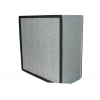 Quality Commercial Clean Room HEPA Air Filter Media , Stainless Steel Frame wholesale