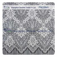 Quality White Nylon Polyester Lace Fabric wholesale