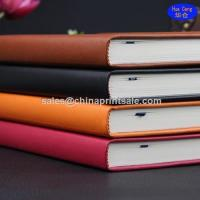 Quality china guangzhou ybj Cheap Leather note book with 2015 calendar agenda wholesale