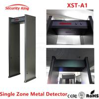Quality Metal Detector archway for airport hotel security metal scanner gate Metal Detector door single detecting zones XST-A1 wholesale