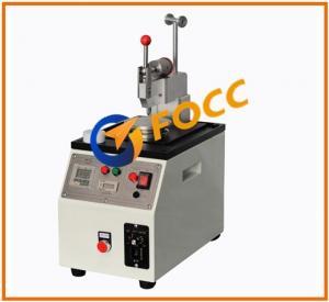 Buy cheap Central Pressure Fiber Optic Polishing Machine For Rework / Ferrule Polishing product