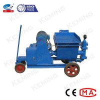 China 50L/Min Piston Cement Injection Mortar Grout Pump 4Mpa on sale