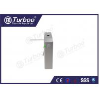Cheap Smart Waist High Turnstile Provided Automatically Card Collection Function for sale