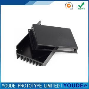 Quality Small Batch CNC Aluminum Prototype Machining Housing with Black Anodizing wholesale