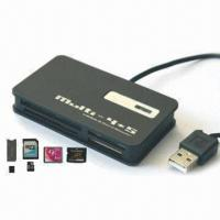 Quality All-in-one Card Reader with Full-speed USB 2.0 Interface wholesale