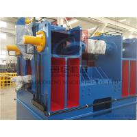 Buy cheap YTJ-80B Hydraulic type H Beam Flange Straightening Machine , 11m*2sections Elevation type Conveyor product