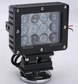 Cheap 60W Square Vehicle LED High Power Driving Lights , 6500K 4800 Lumen 12 Volt Led for sale