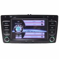 Quality Wholesale 2 DIN 7 Inch Car DVD Player GPS Navigation for Skoda Octavia Laura 2004-2013 Steering Wheel Control wholesale