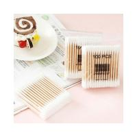 Quality Daily Use Wooden Cotton Buds Multi Process Disinfection And Sterilization wholesale