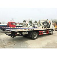Quality Foton Flat Bed Breakdown Recovery Vehicle , Car Carrier Tow Truck wholesale