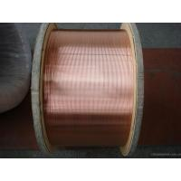 China High Strength 30% CCS CATV Inner Conductor , Copper Clad Steel Wire For Electronic Products on sale