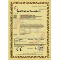 Shenzhen Willdone Technology Co., Ltd. Certifications