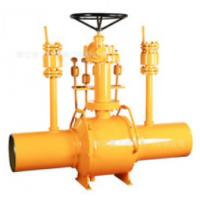 Quality One Piece Fully Welded Ball Valve / Full Bore Ball Valve Abrasion Resistance wholesale