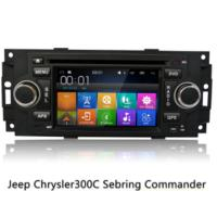 China 6.2 Inches Screen Android Os Car Gps Navigation System For Jeep Chrysler on sale