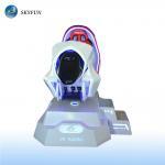 Quality Entertainment VR Racing Simulator / 9d Virtual Reality Machine wholesale