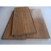 Cheap Carbonized Strand Woven Bamboo Flooring, Click lock for sale