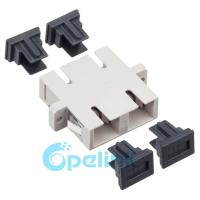 Quality SC Duplex Multimode Plastic Fiber Optic Adapter wholesale