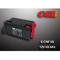 Quality 65AH Valve Regulated Lead Acid Battery Rechargeable , Long Time Undercharge 12v Vrla Battery wholesale