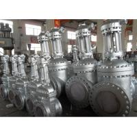 China 14 Inch API 600 Gate Valve , WCB Material Flanged Gate Valve Lock Device on sale