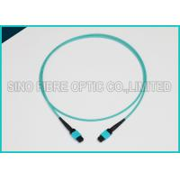 Quality 3.0mm 100Gbps 24F MPO MTP Mating Fiber Optical Multimode OM3 Trunk Method B Patch Cable wholesale