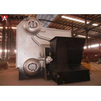 Quality Industrial Water Tube Wood Fired Boiler Corrugated 14 Bar Capacity 4 Tons wholesale