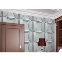 Cheap Vinyl Wallpaper Natural Fiber Wallpaper Easy Install Interior and Exterior 3D for sale