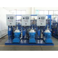China Self Cleaning Fuel Oil Treatment System , Fuel Oil Purifier Separator 5000 L/H on sale