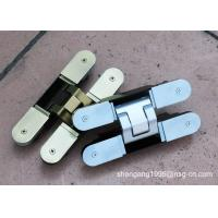 Quality Silent 3d German Hinges ,  Open / Close Concealed Door Hinge Thickness 40mm wholesale